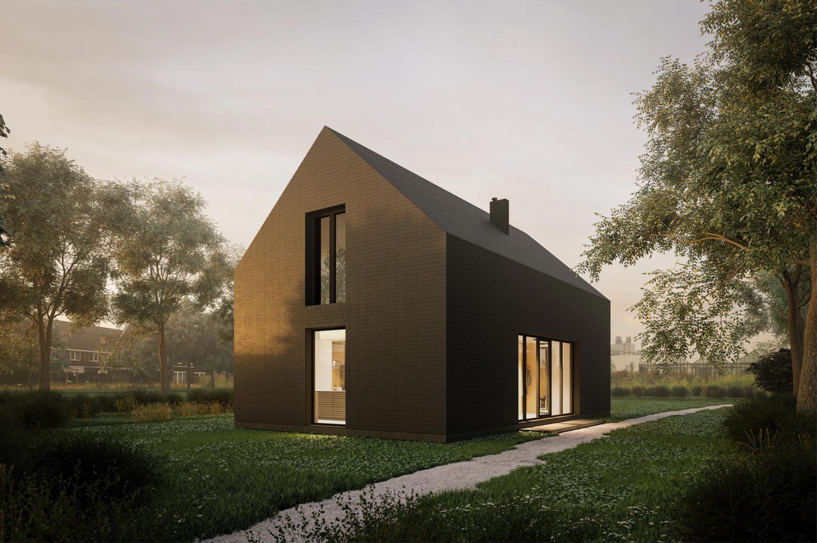 impressie woonhuis in Zevenhuizen